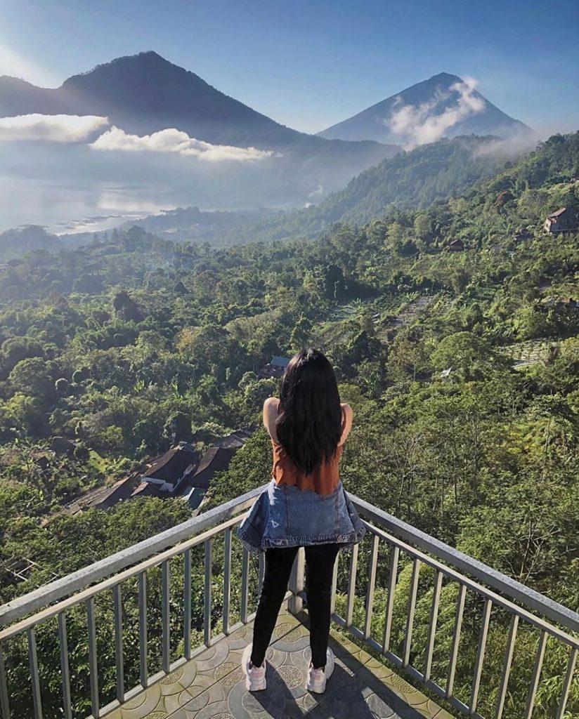 view alam pegunungan
