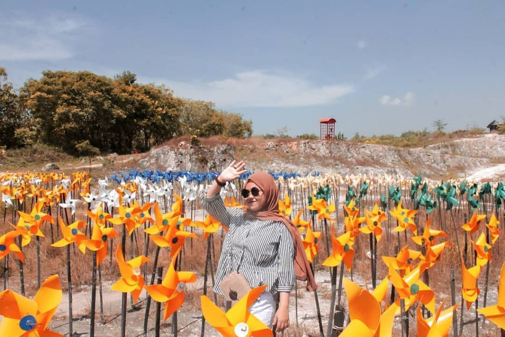 spot bunga plastik