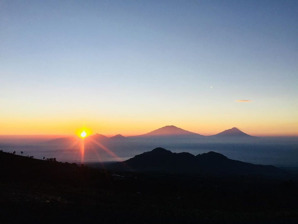 sunrise dari mangli