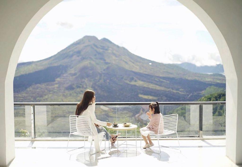 view gunung batur yang mempesona