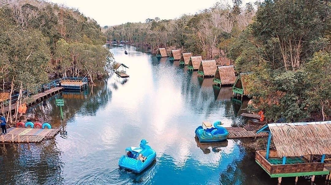 Lokasi Dan Tiket Masuk Danau Shuji Lembak Muara Enim