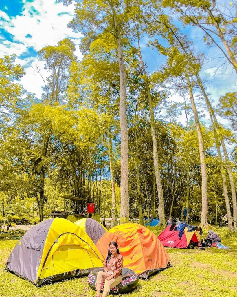 camping di landak river bukit lawang