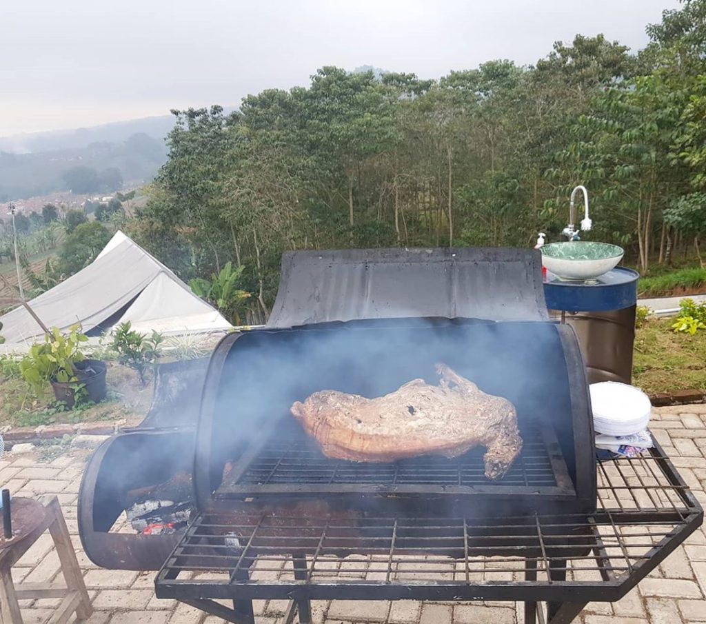 fasilitas BBQ