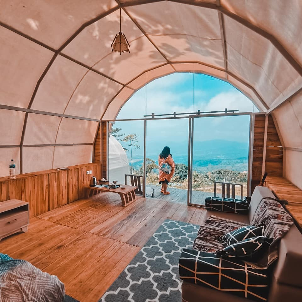 glamping yang instagramable