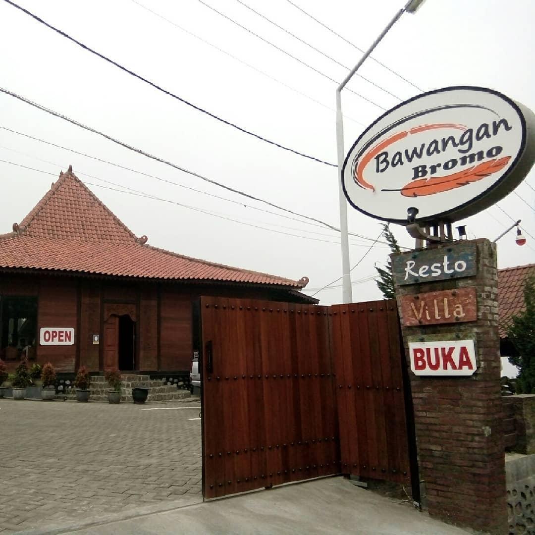 lokasi bawangan bromo resto