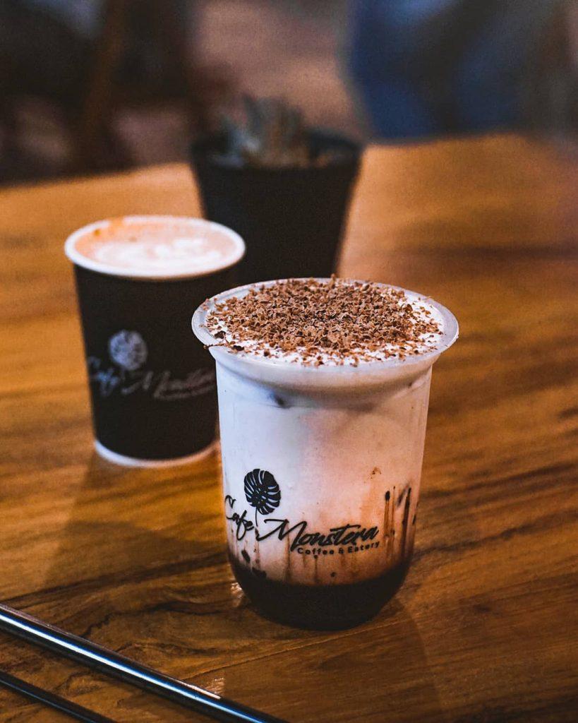 menu monstera cafe batu