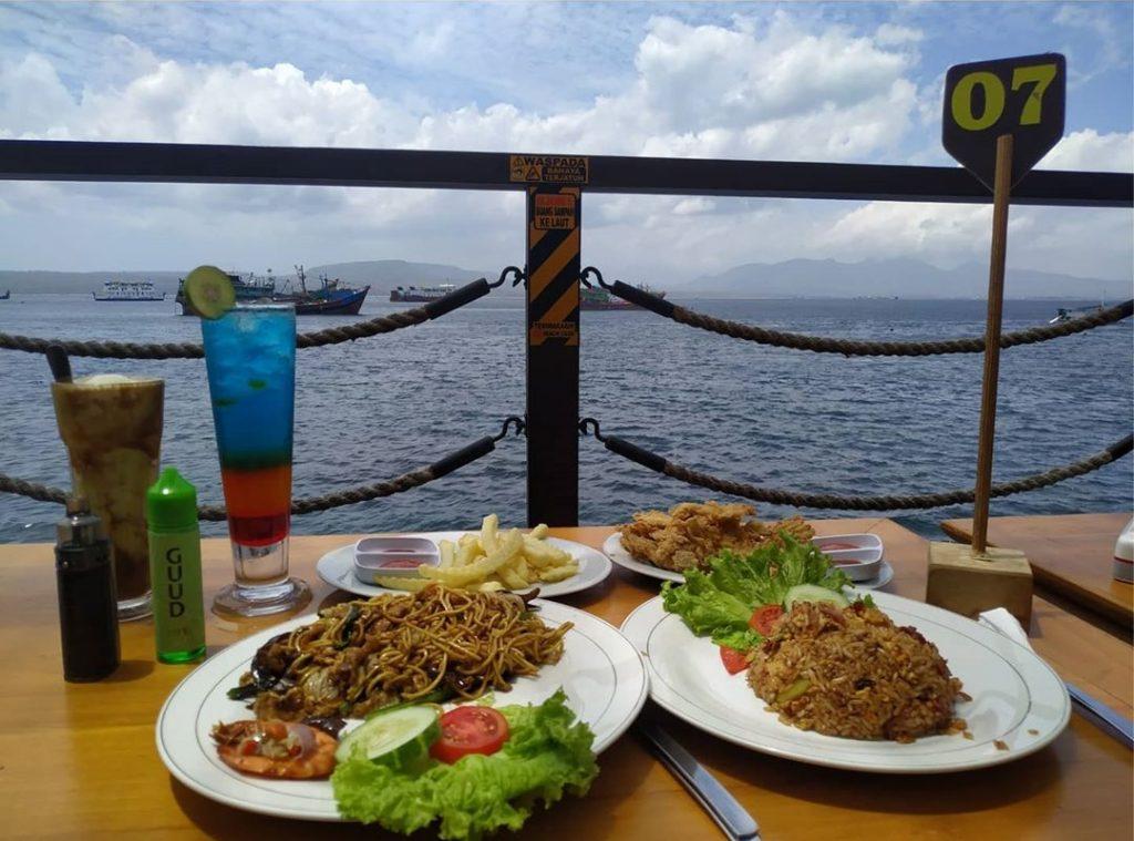menu sun osing beach