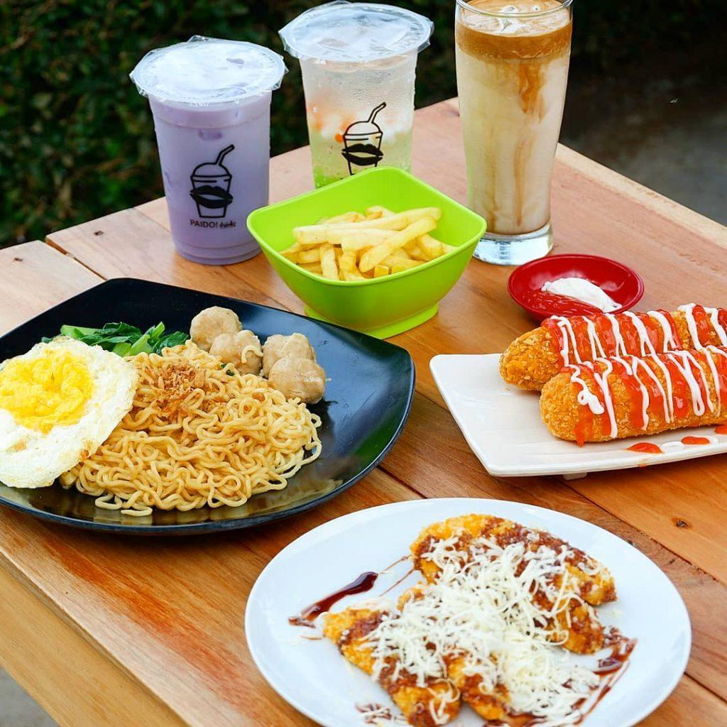 menu paido trawas food and beverage