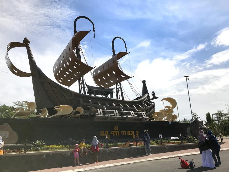 lokasi gerbang samudra raksa