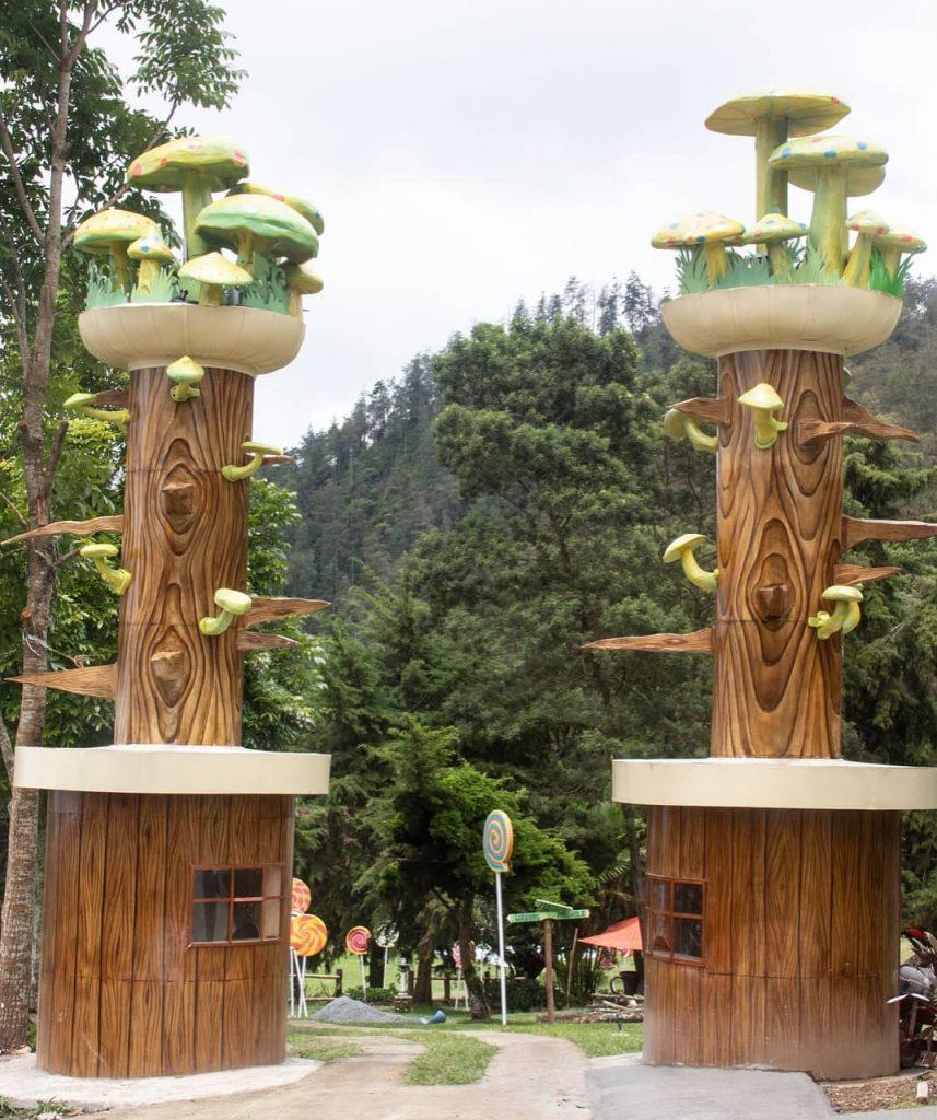 HTM tawangmangu wonder park karanganyar