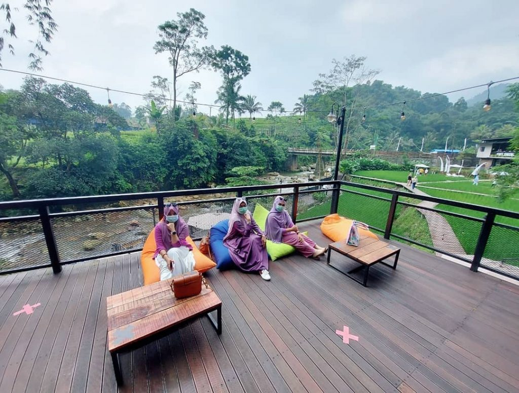 lokasi kopi tubing cafe & resto
