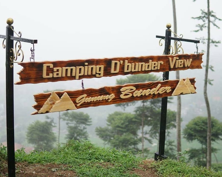 camping gunung bunder bogor