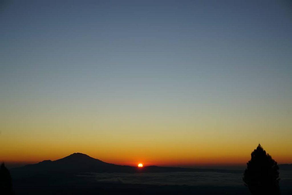 sunrise yang indah