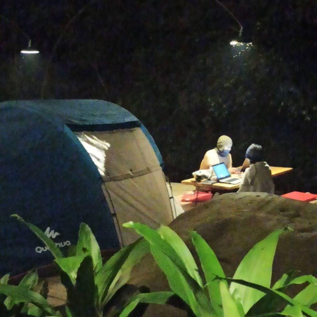 pineus tilu riverside camping