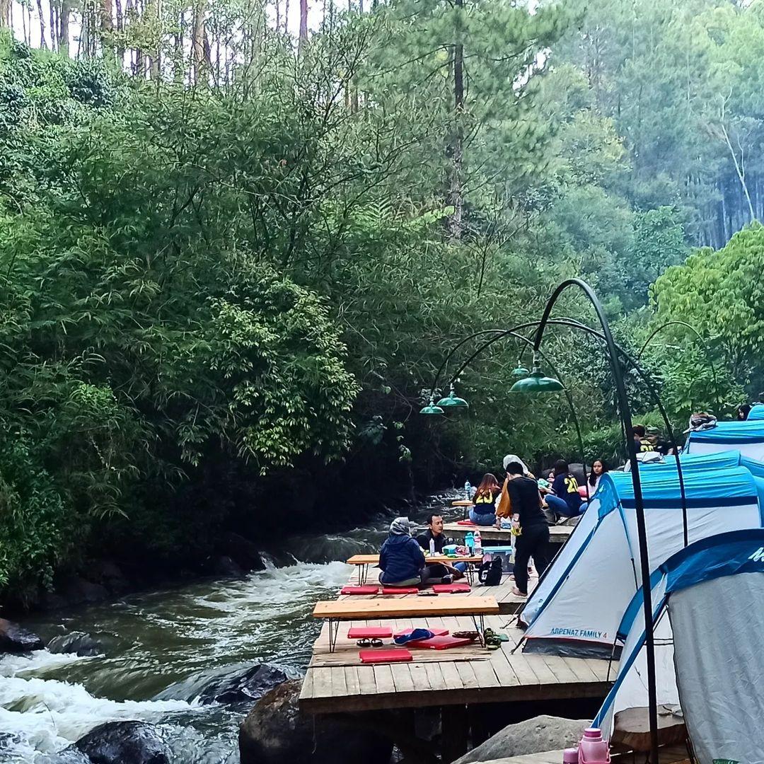 wisata pineus tilu campground