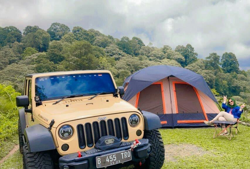 fasilitas camp dan offroad trip