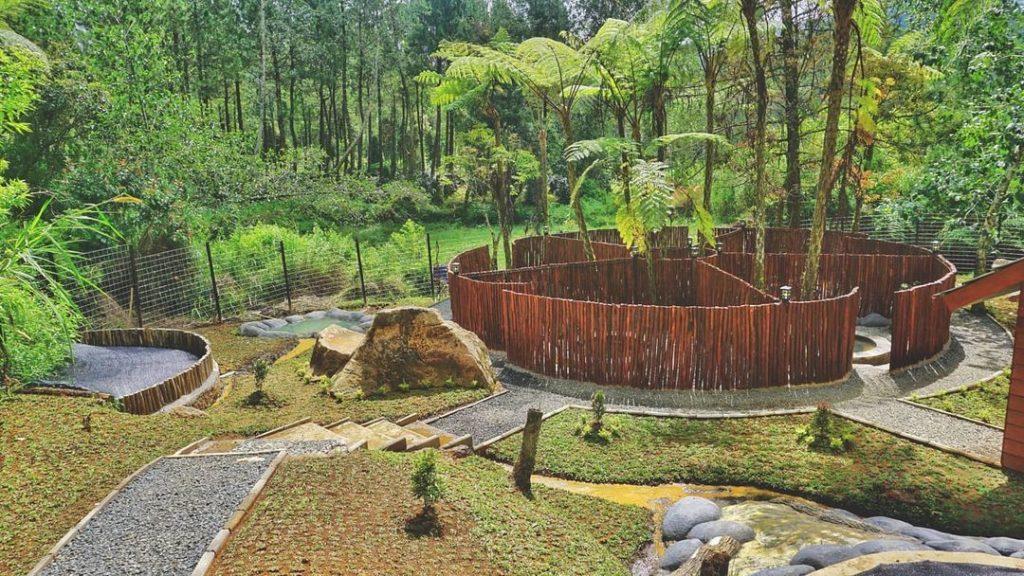kolam air hangat