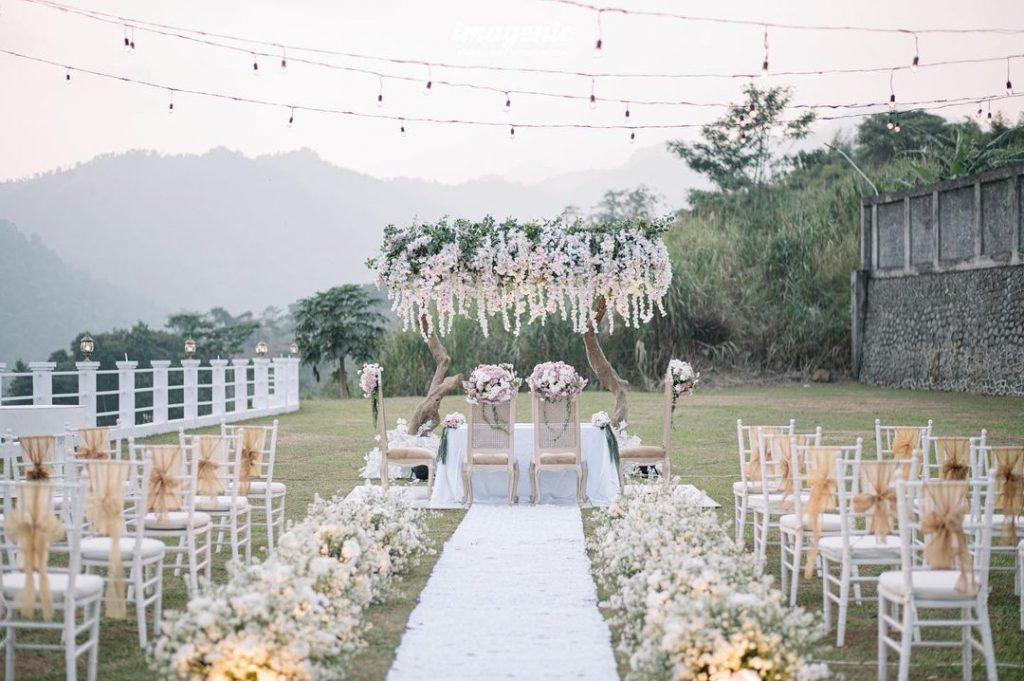 tempat wedding outdoor di sentul